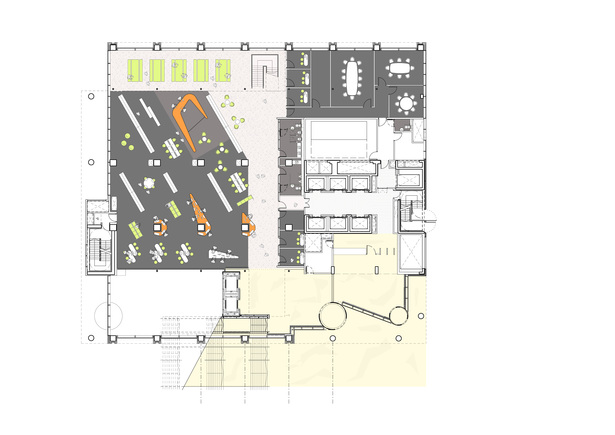 Interior Fit-out, GF plan