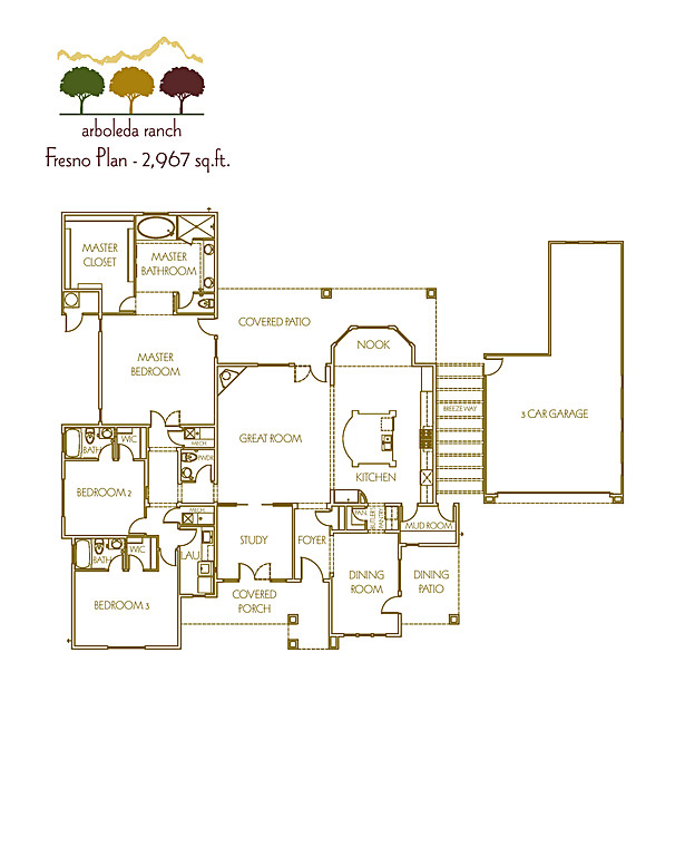 Plan 1 - Marketing Floor Plan