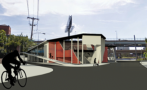 View from walk from Piazza at Schmidt's