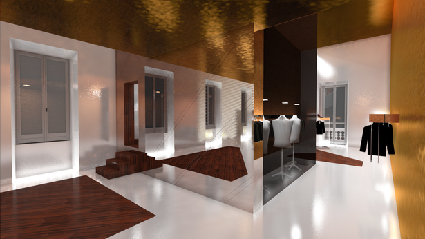 Percassi Showroom -Milan. Architect/Head Designer:Marco Rocha