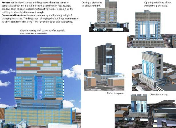 Iteration Building design - Sketch-up