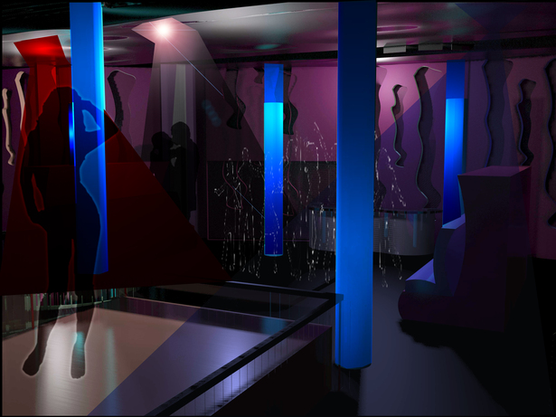 Proposed design for nightclub