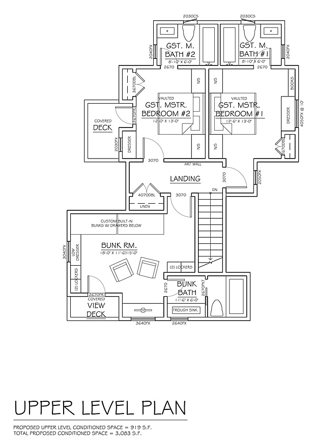 Floor Plan for the McLea Family