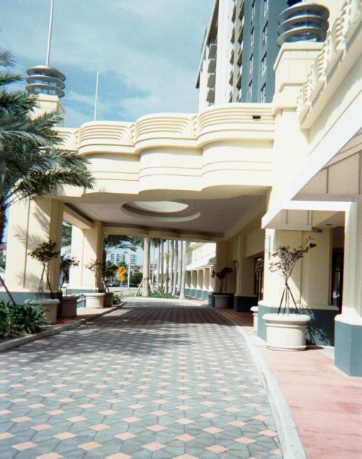 Porte Cochere Side View