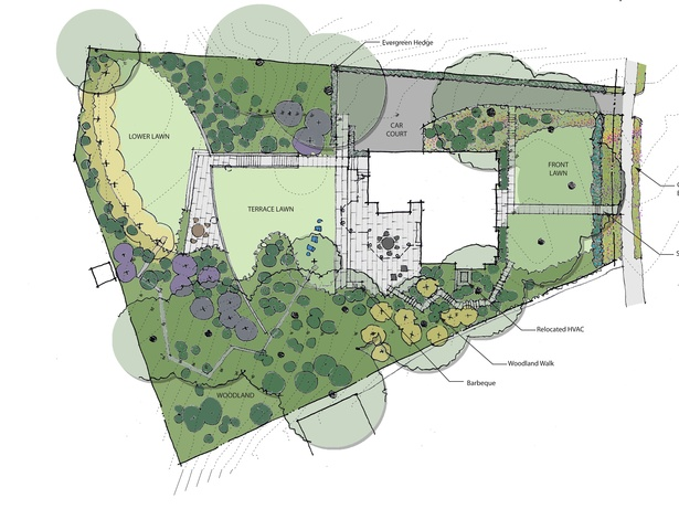 Proposed Site Plan by Rader Crews