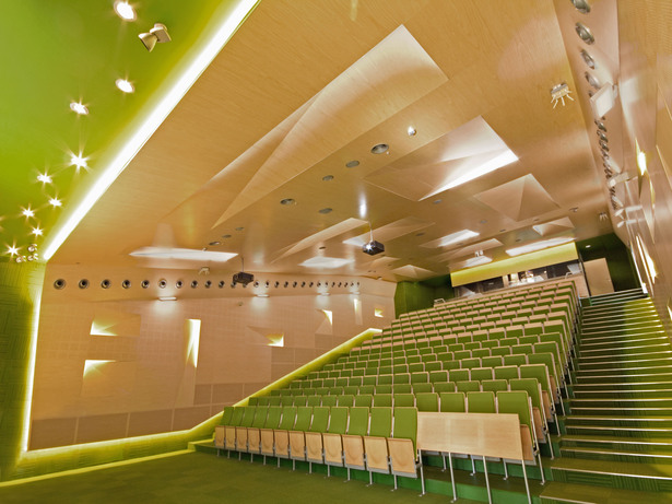 A lecture hall