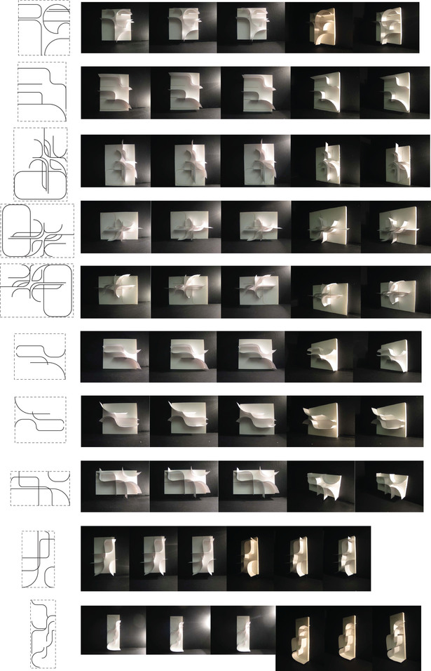Physical model studies_Lightwell Curves