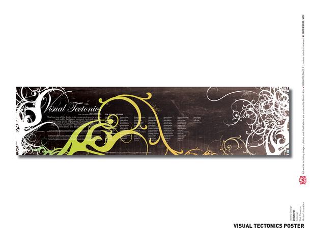 VisuaL Tectonics Poster