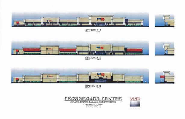 Crossroads Center - Elevation Studies