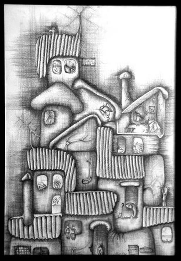 Drawings by Jaime F. Bautista - My Neighborhood