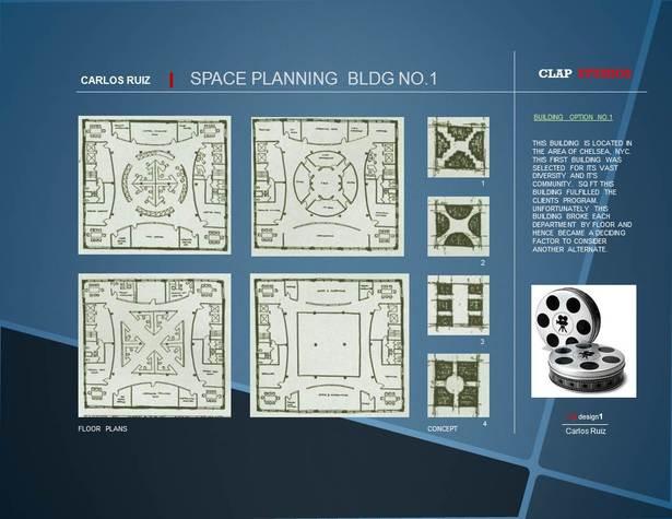 CLAP Studios / NY NY / Unbuilt pg1