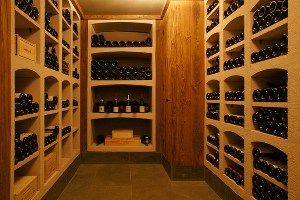 Madaket Modern Wine Cellar. Photo: T.G. Olcott