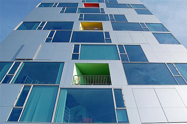 V House facade
