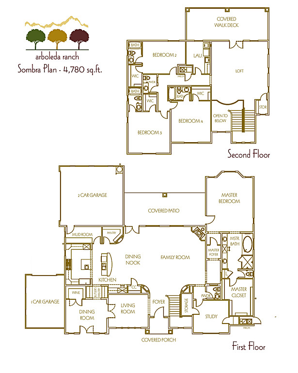 Plan 4 - Marketing Floor Plan