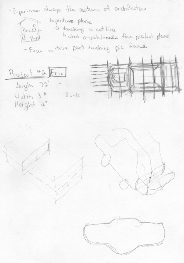 Sketches/Ideas for Chipboard Models