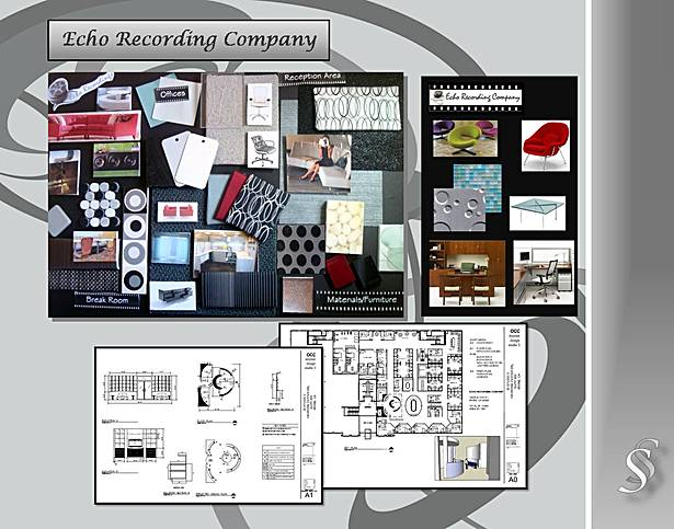 Executive Recording Company Material Board