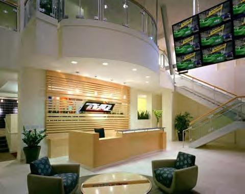 THQ Lobby Desk