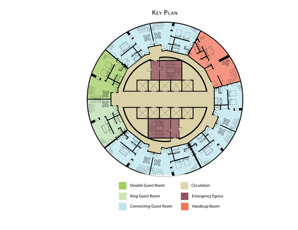 Premiere Suite Floor Plan