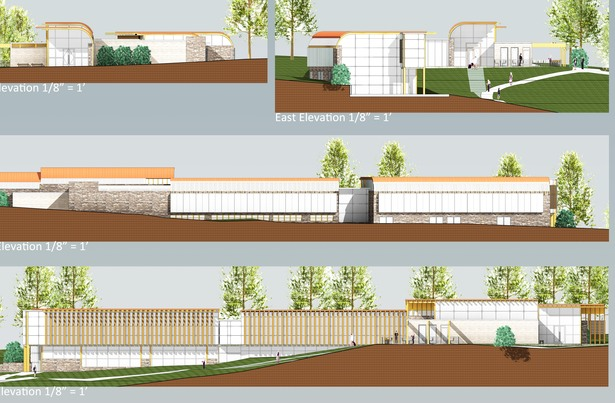 Main Museum Component Elevations