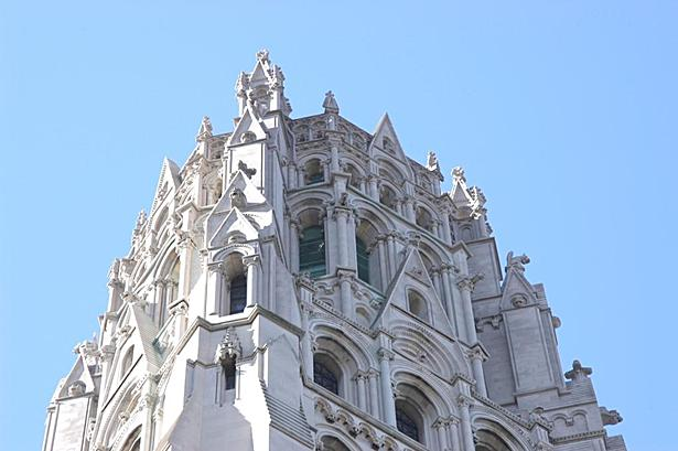 Top of Riverside Church spire