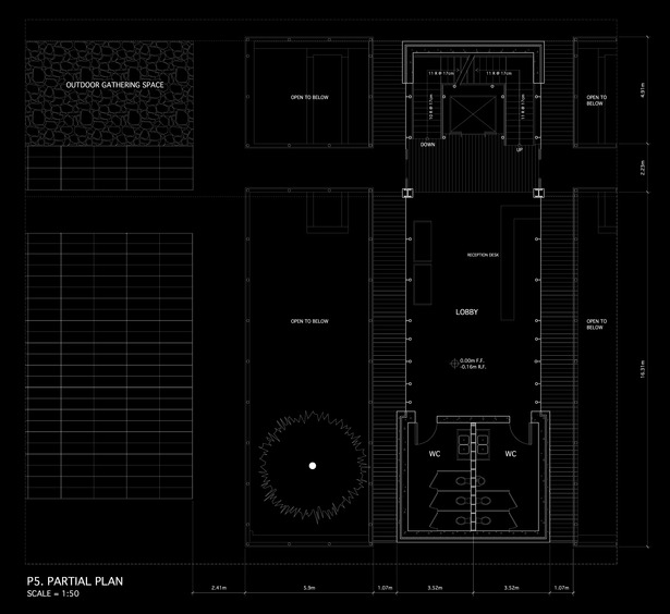 1:50 Ground Floor Plan