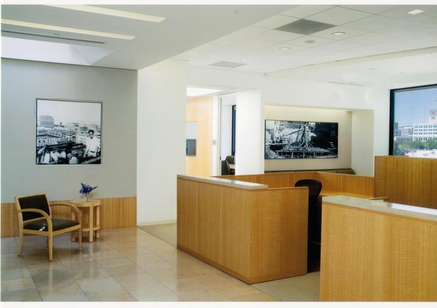 Executive Floor Reception Area
