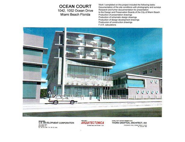 Ocean Court-building rendering