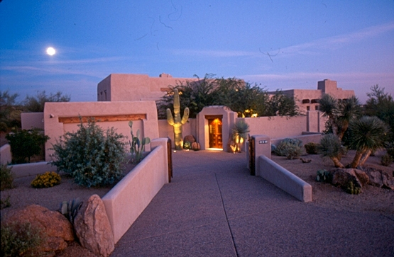 Santa Fe style Residence