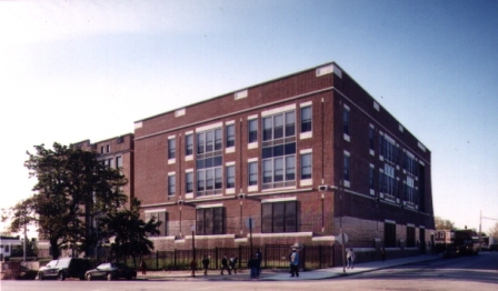 General exterior of Classroom Addition