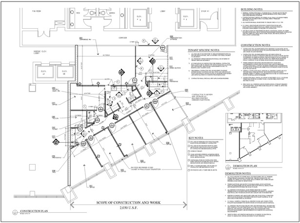 Construction Floor Plan