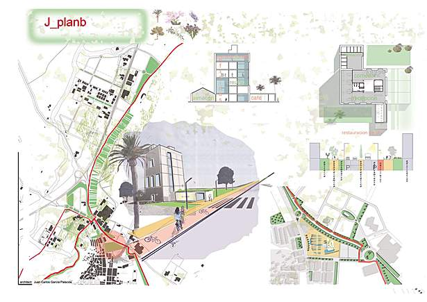 "Competiton in Yecla and Jumilla, PAYS. MED. URBAN projects ""Plan B"""