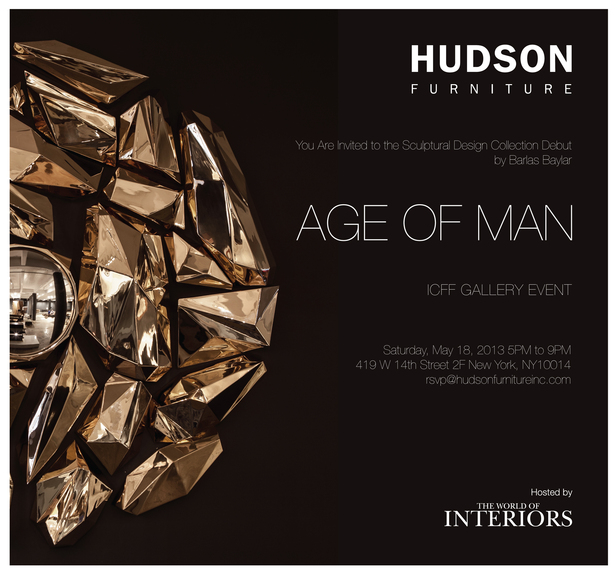 Hudson Furniture and Barlas Baylar Debut with The World of Interiors May 2013