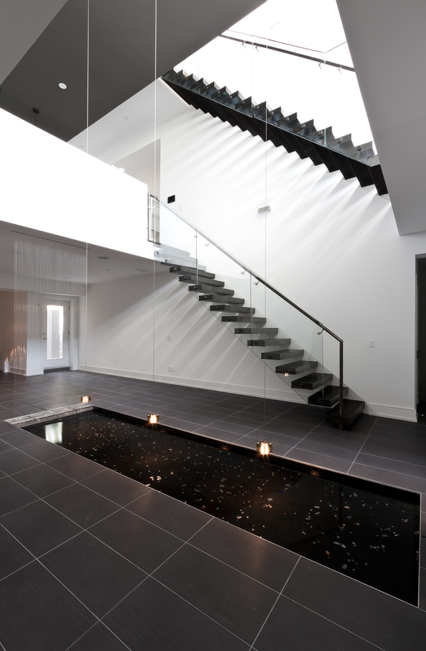 Reflection Pool, Staircase, Void