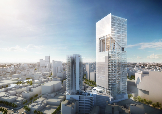 Reforma Towers - Richard Meier & Partners Architects