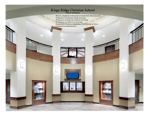 Kings Ridge Christian School-built interior image