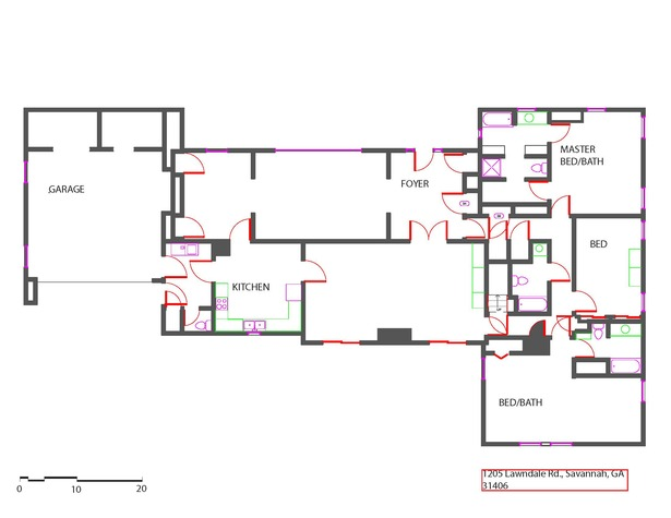 As Built Floor Plan Devannand Persad Archinect