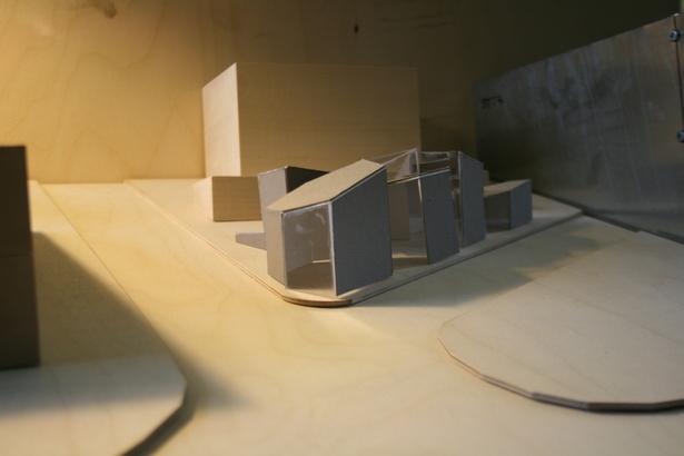 Final model on site