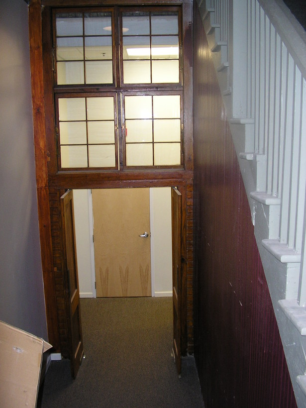 Existing stair after renovation