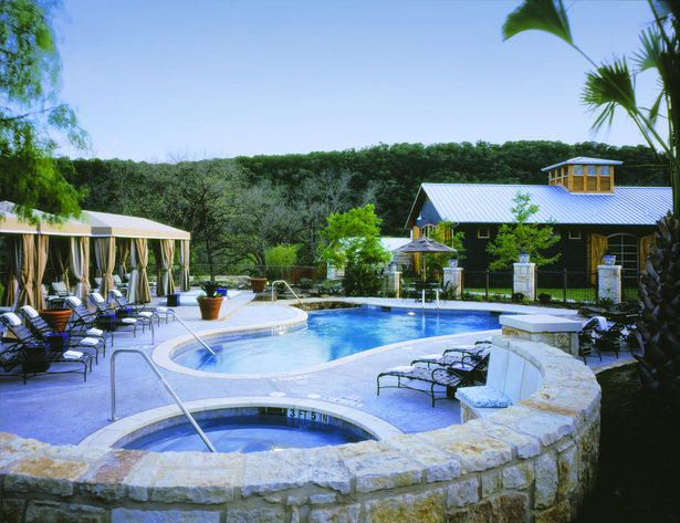 Lake austin spa resort lake house spa jackson for Spas and resorts in texas