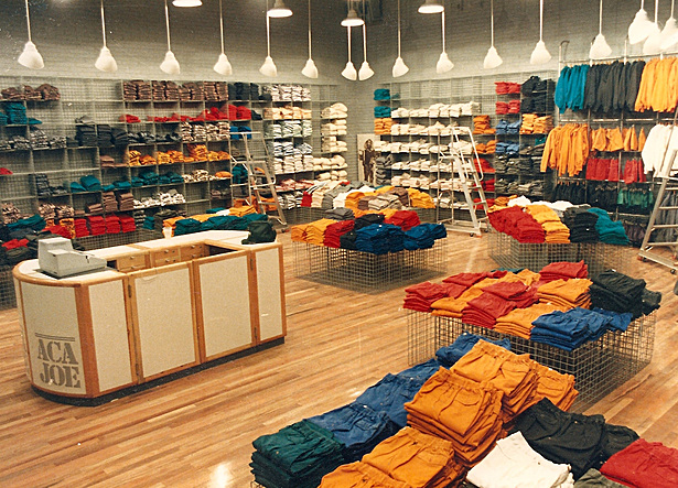 Large store Interior with product
