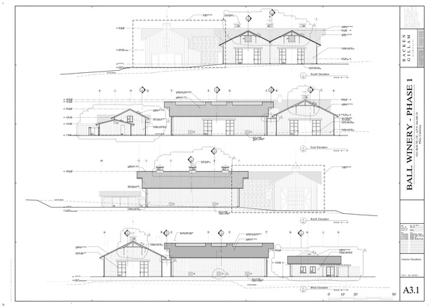 Ball Winery Elevations