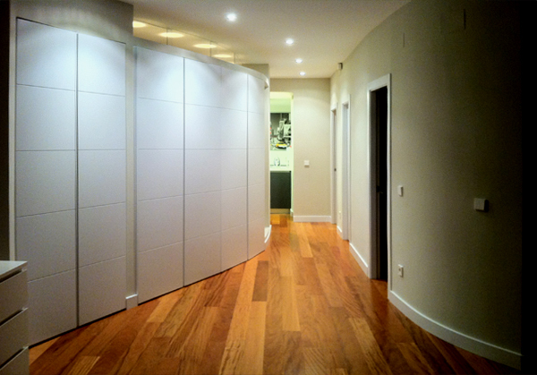 corridor from master bedroom