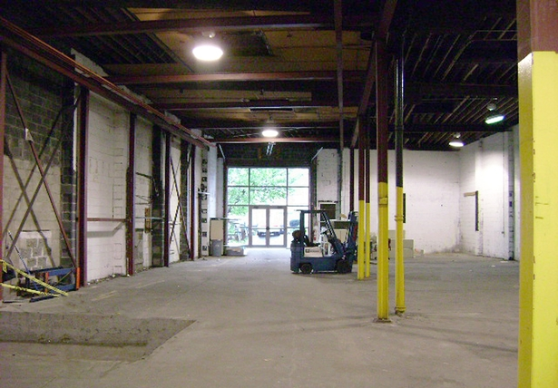 Original Warehouse before Renovation