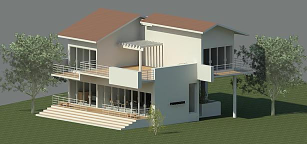 Artist Impression, Typical Bungalow