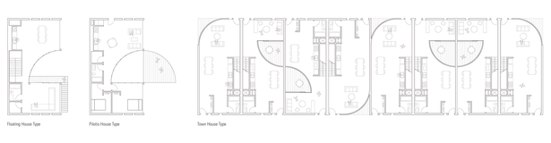 Floor Plans of Housing Types