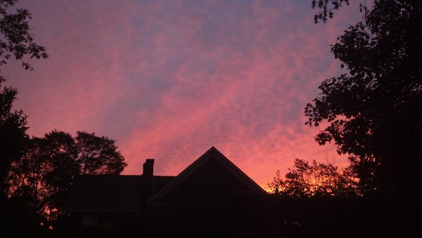 Fall sky in the Hampton's.