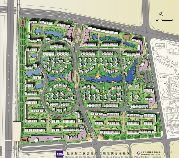 Mixed use development masterplan, Wuhan