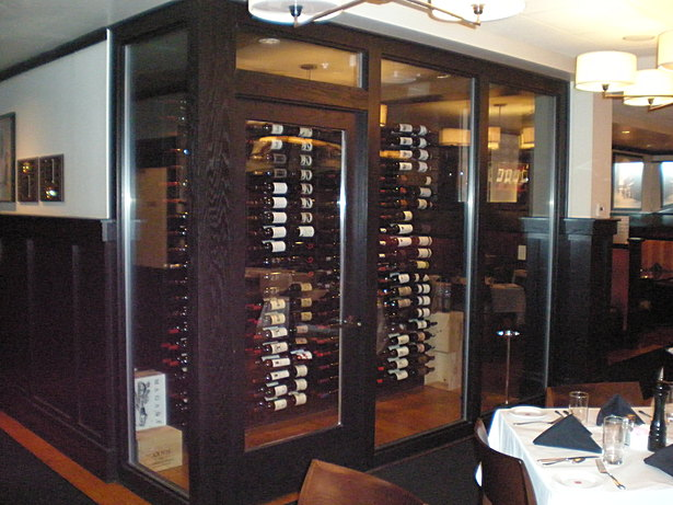 Conditioned Wine Cellar