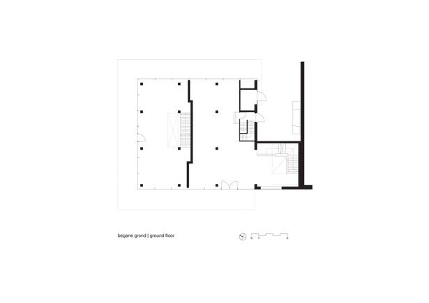 Claus en Kaan Architecten / Ground Floor Plan