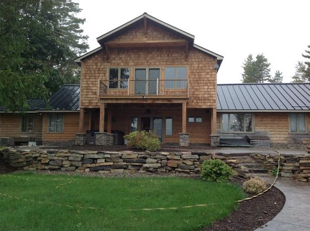 Lake House Facade